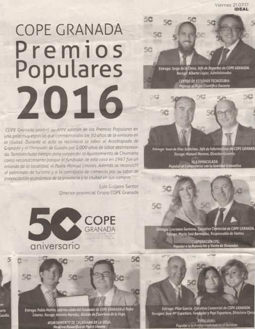 Foto Premios Populares 3