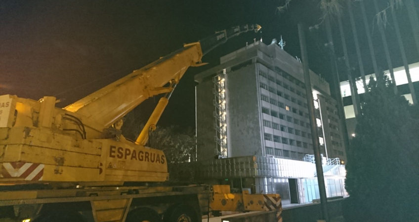 Montaje Nocturno en Madrid - Espagruas 2