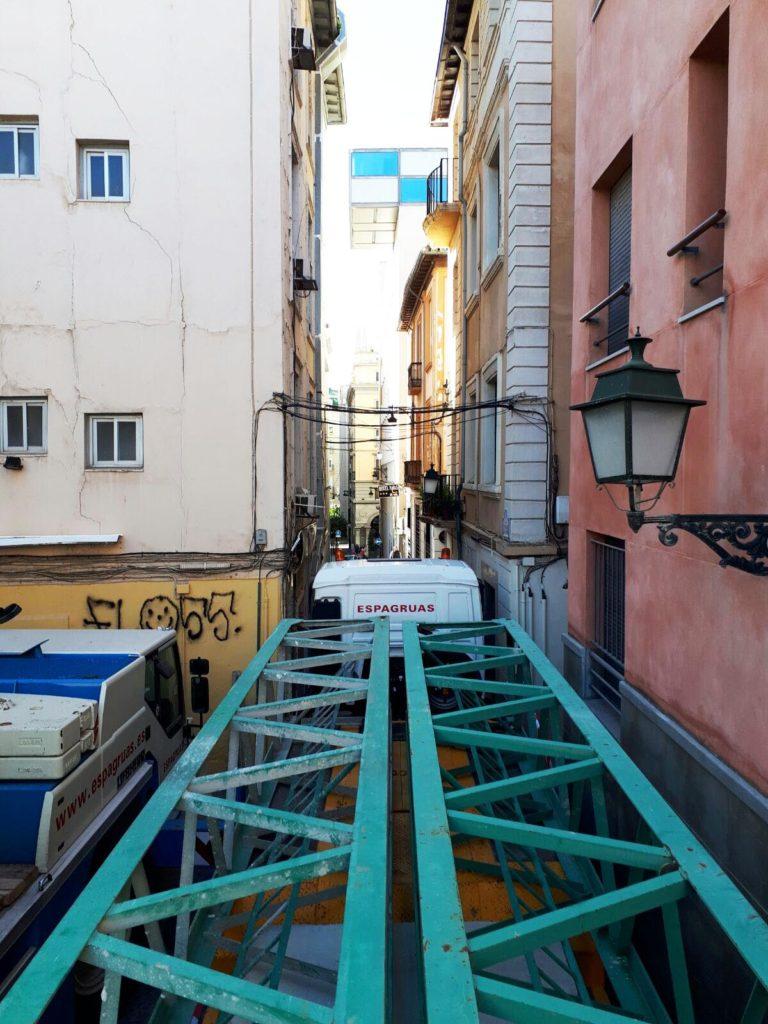 Desmontaje de Grúa Torre en Granada - Espagruas