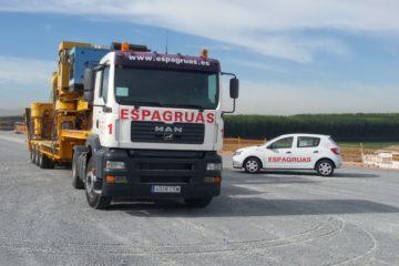 Servicio de Cabezas Tractoras - Espagruas