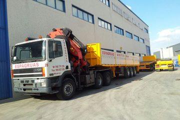 Servicio de Camiones Grúa - Espagruas